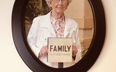 Mayor celebrates a Centennial birthday for Kate Friedewald at Wickshire Senior Living today